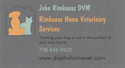 Rimkunas Home Veterinary Services